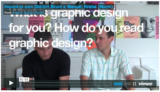 What is graphic design for you? how do you read graphic design?