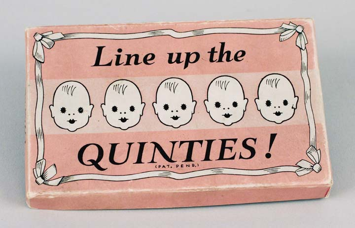 Line up the Quinties