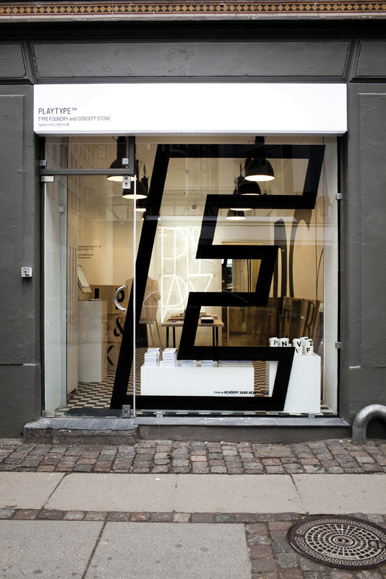 PlayType's Concept store