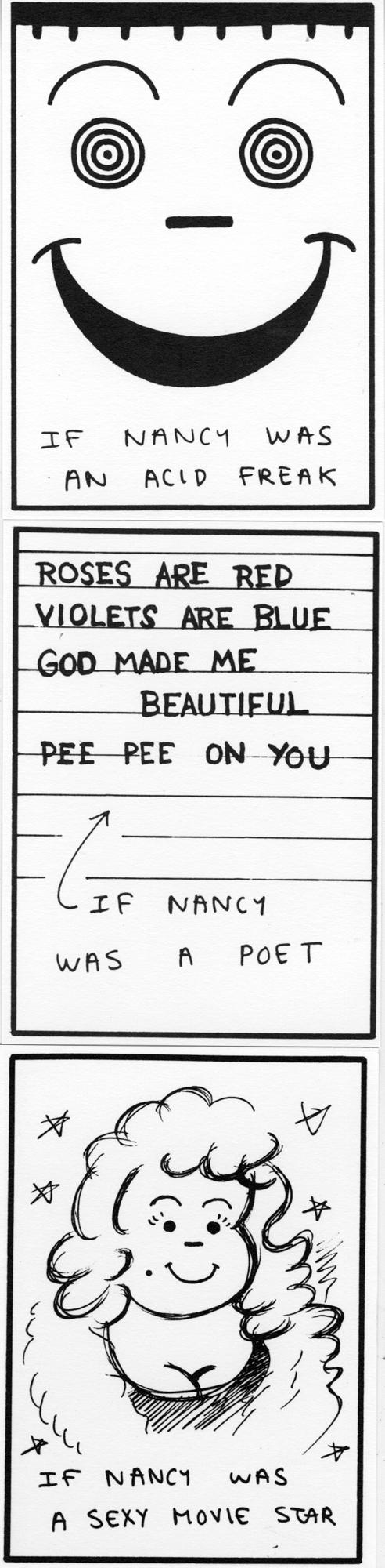 Thumbnail for Nancy, We Hardly Knew Ya