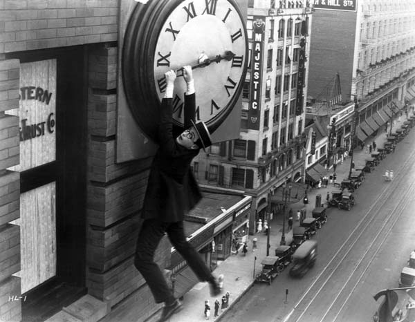 """Scene from Christian Marclay's """"The Clock"""""""