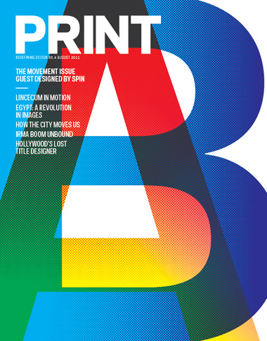 Thumbnail for Print's August 2011 Issue