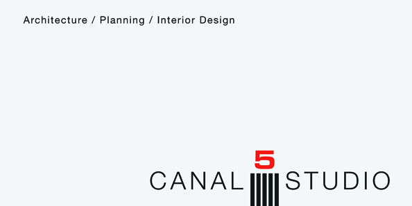 Business card for Canal 5 Studio