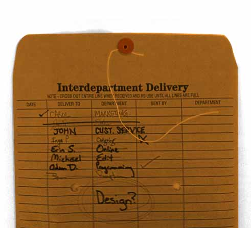interdepartment delivery