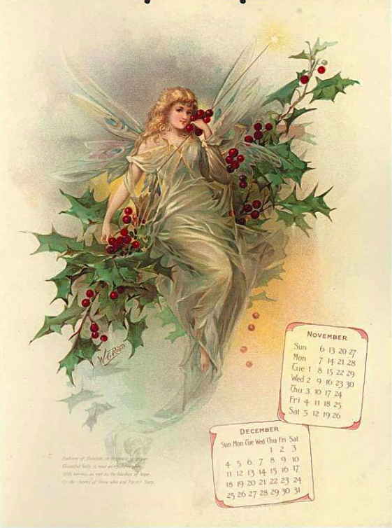 A Fairbanks Fairy Soap calender lithograph from 1898.
