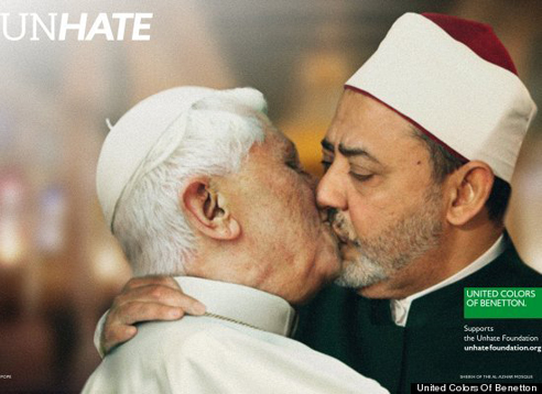 Unhate United Colors of Benetton Pope