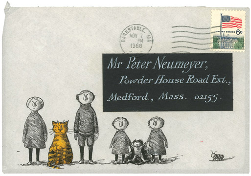 Thumbnail for Floating Worlds: The Letters of Edward Gorey and Peter F. Neumeyer