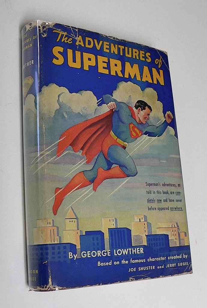 Thumbnail for Joe Shuster's Artwork for the 1942 Novel The Adventures of Superman