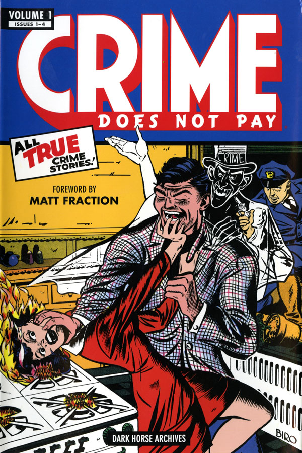 Thumbnail for Crime Pays in Comics