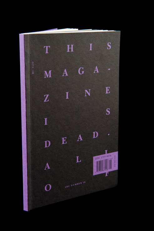 Thumbnail for Beach Reading Alert! The RCA's Lively New Magazine About Death