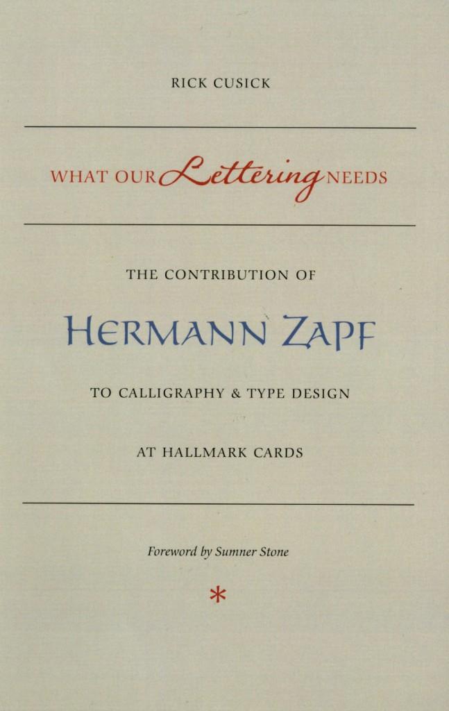 Thumbnail for Hermann Zapf at Hallmark Cards