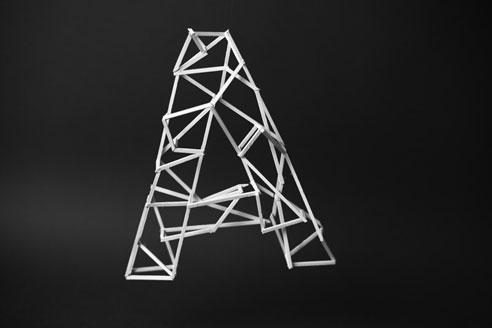 Thumbnail for New Dimensions of Type: Jerome Corgier's Skeletal Alphabet