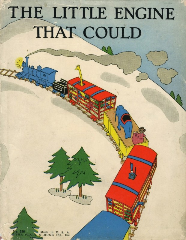 """Thumbnail for Watty Piper's 1930 """"The Little Engine That Could"""""""