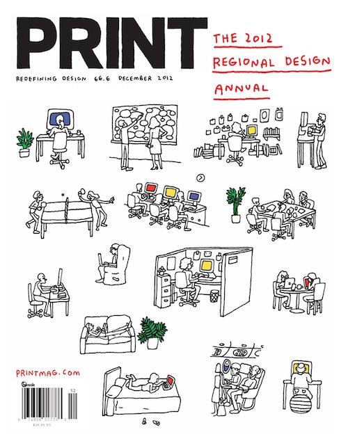 Thumbnail for Print's 2012 Regional Design Annual