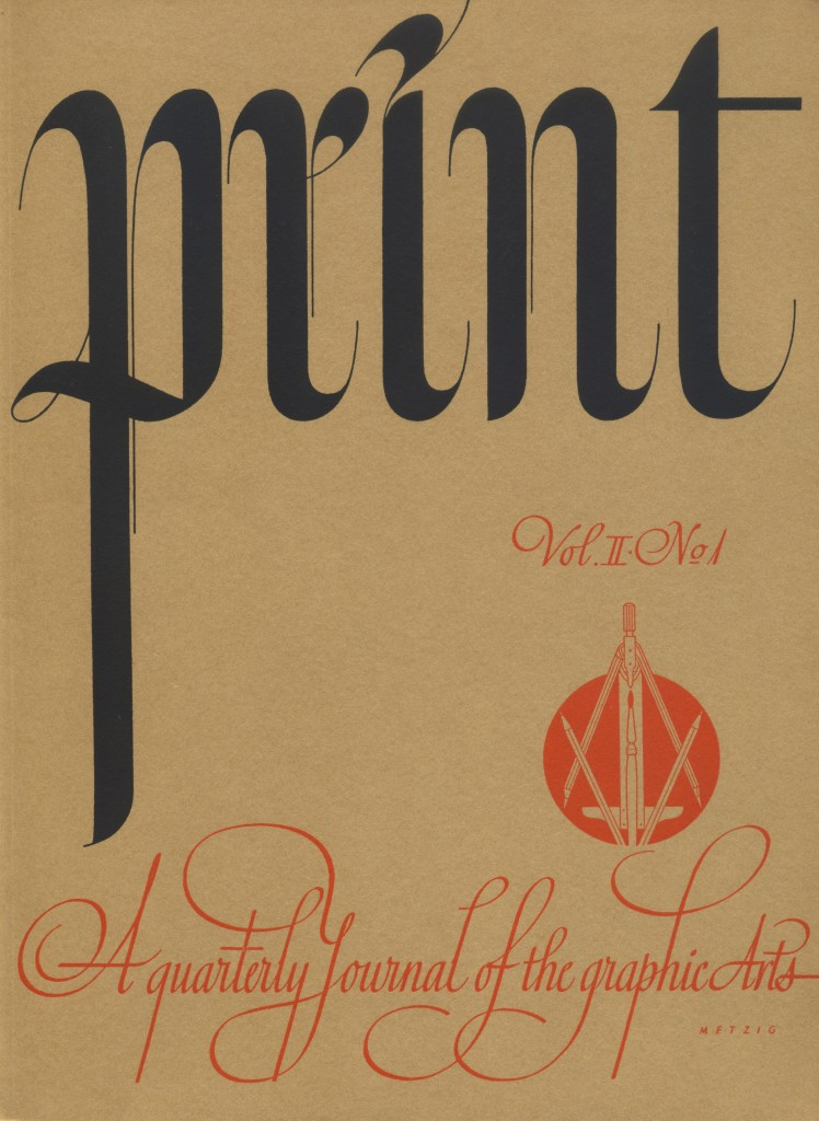 Volume II, Number 1. Cover by William Metzig.