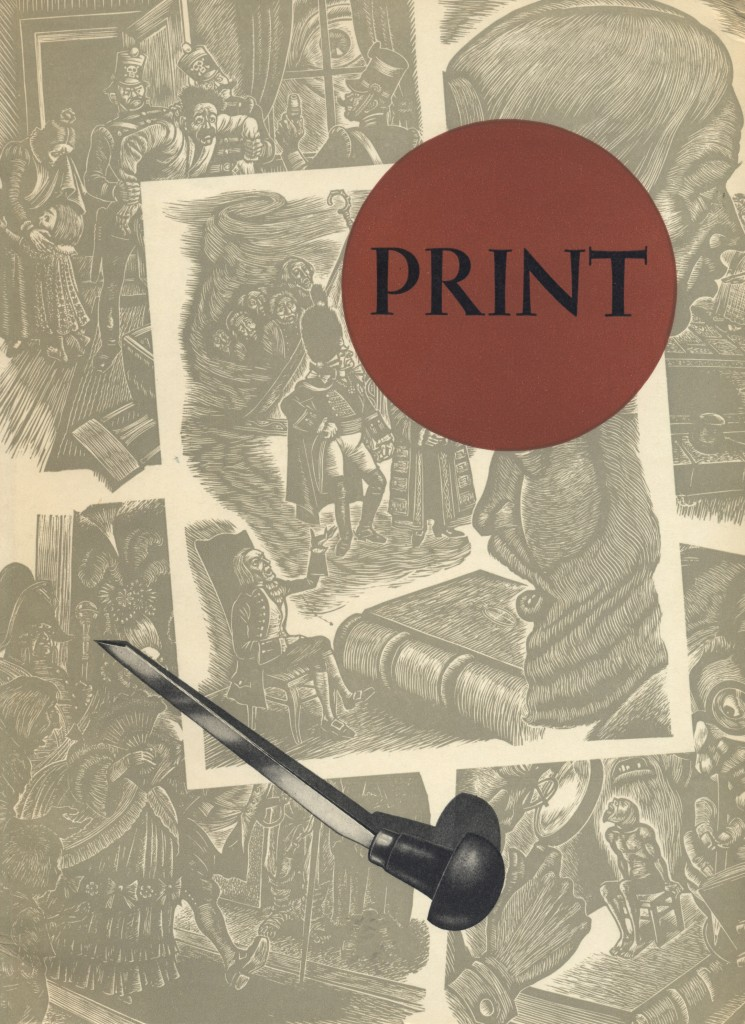 Volume II, Number 2. Cover by Fritz Eichenberg.