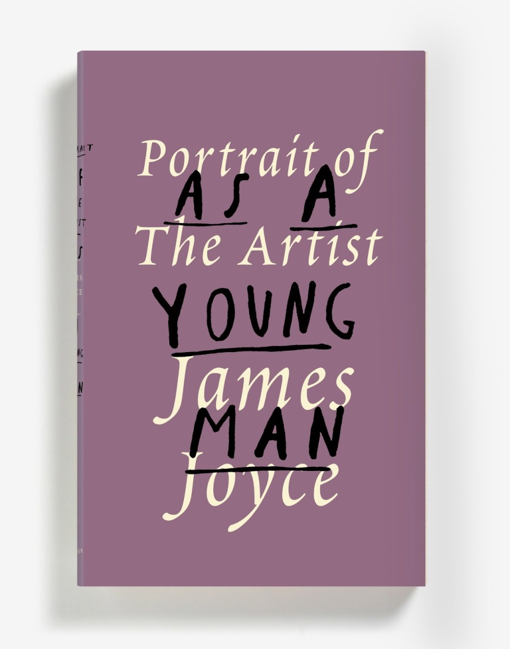 Peter Mendelsund redesign to Portrait of the Artist as a Young Man