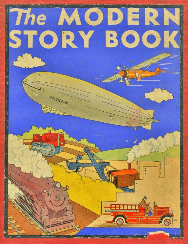 Thumbnail for Post-Modern Storybook Illustrations
