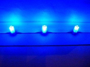 blue lights. by A National Acrobat on flickr: http://www.flickr.com/photos/xctmx/367767929/