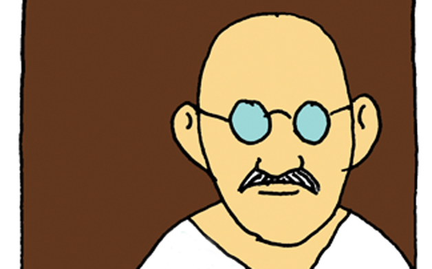Thumbnail for Chwast's Quote: Words of Wisdom from Seymour Chwast (and Mahatma Gandhi)