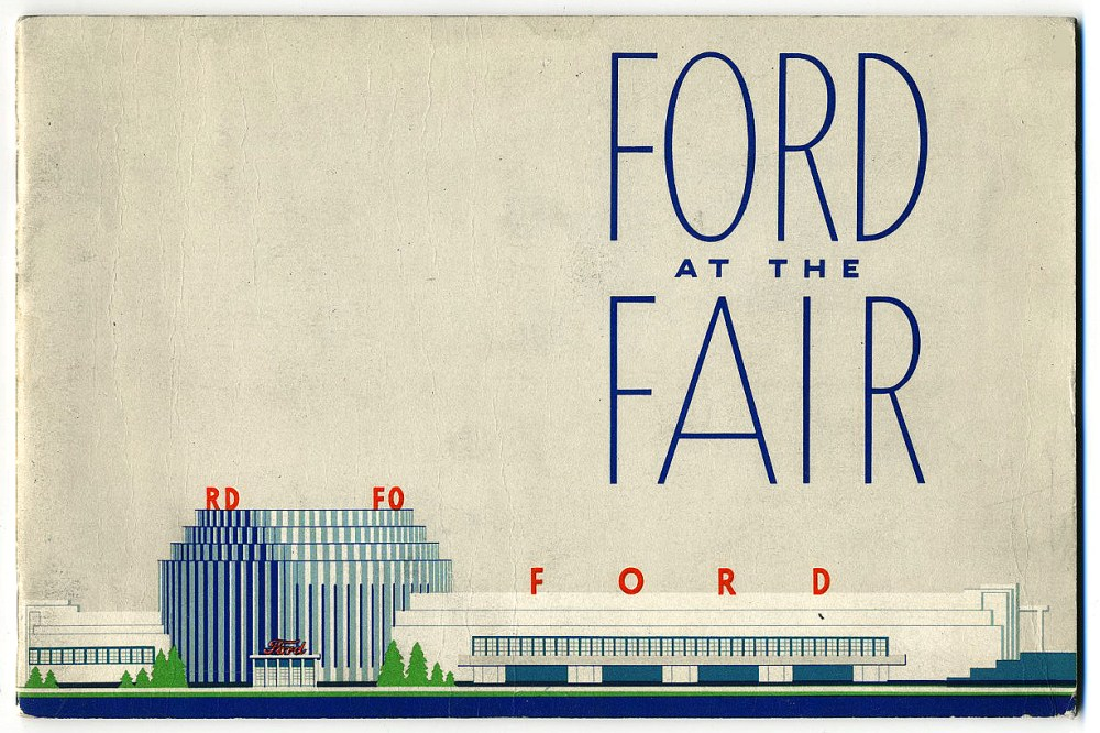 Ford Motor Co. and some newsreel footage: