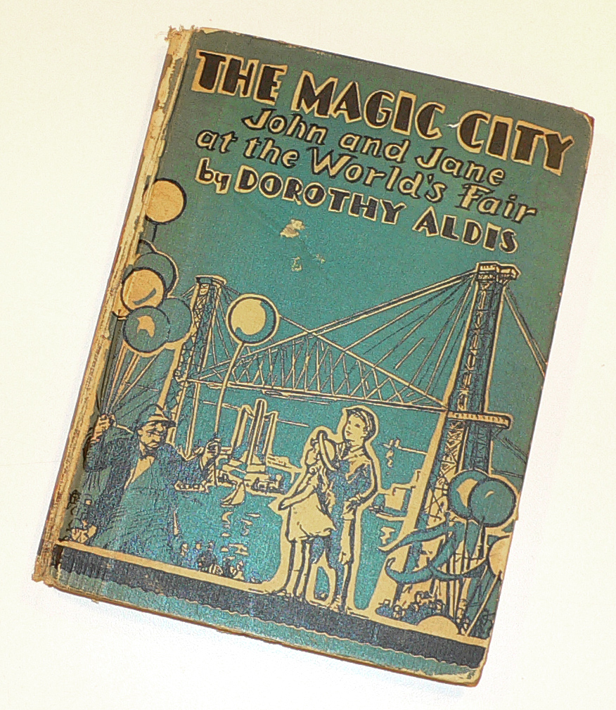 """""""The Magic City"""" with illustrations by Margaret Freeman."""