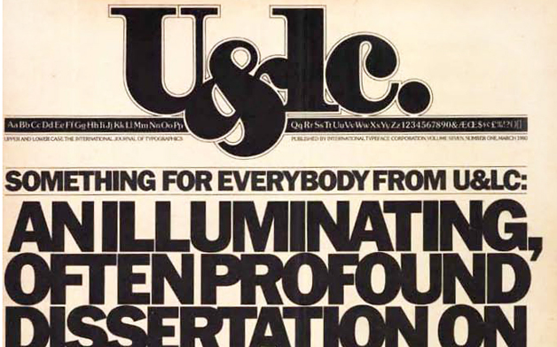 Thumbnail for Looking Back: Working with Herb Lubalin on U&lc