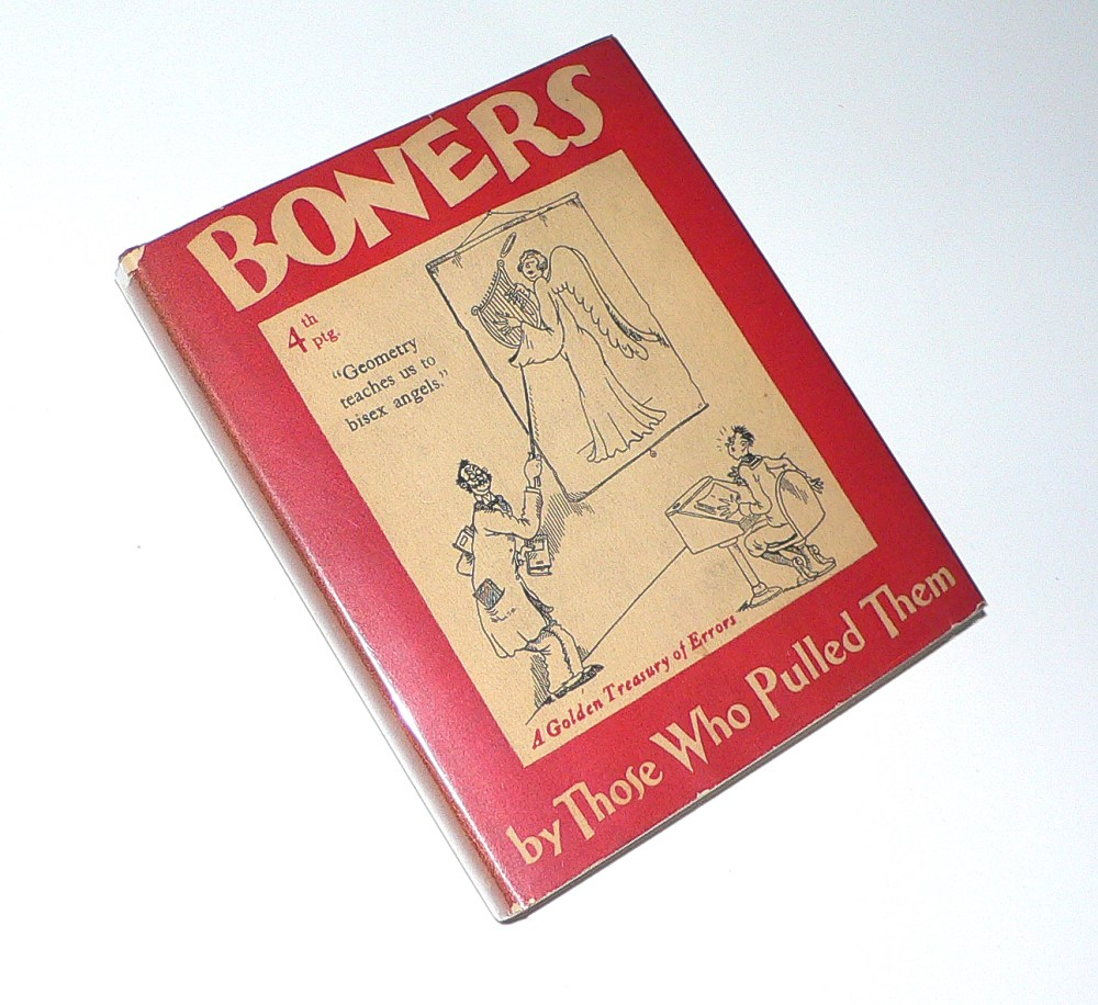 Boners, by Those Who Pulled Them cover