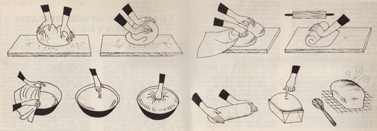 How to Make Bread by Ginnie Hoffman / Beverly Warner