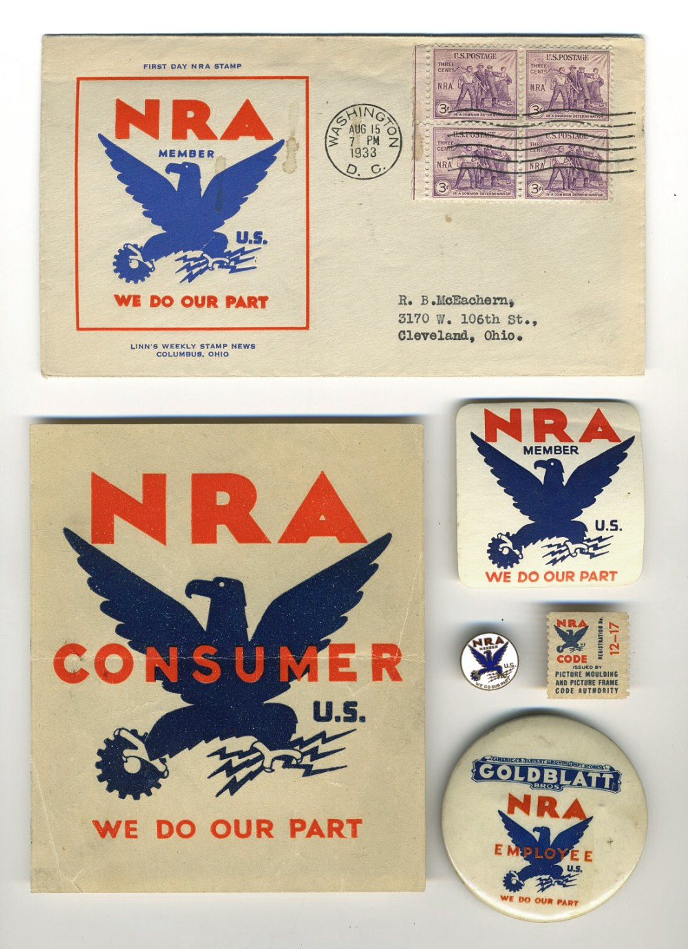 NRA pins stamps020