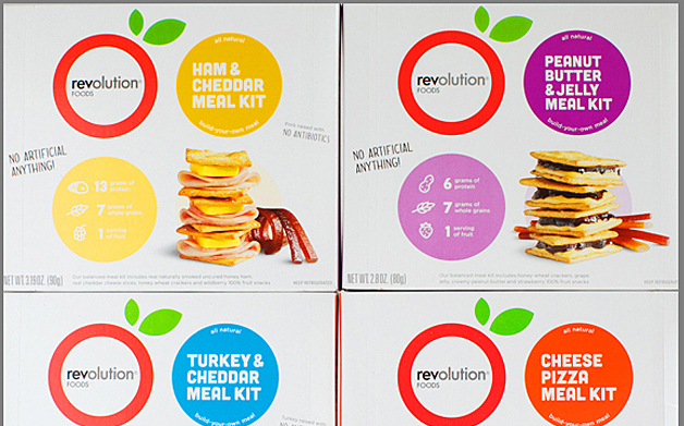Thumbnail for Revolution Foods Takes on Lunchables with Tasty Packaging Design