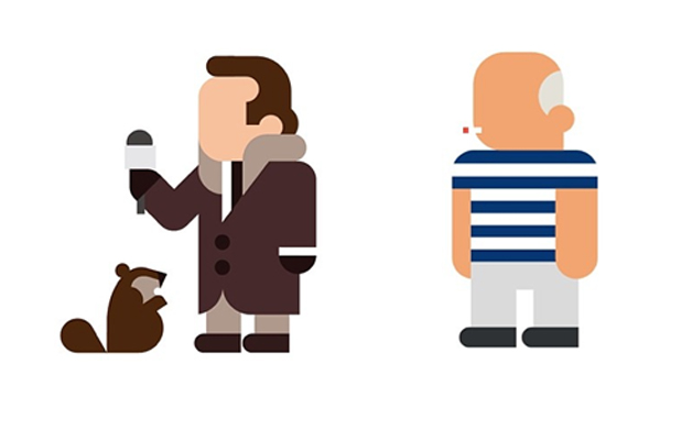 Thumbnail for 04/09/2014: Minimalist pop culture icons