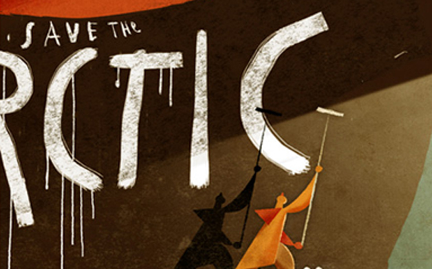 Thumbnail for 04/17/2014: Save the Arctic illustration