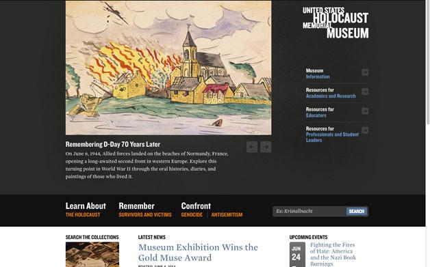 Thumbnail for Designing to Remember: U.S. Holocaust Memorial Museum Website Redesign