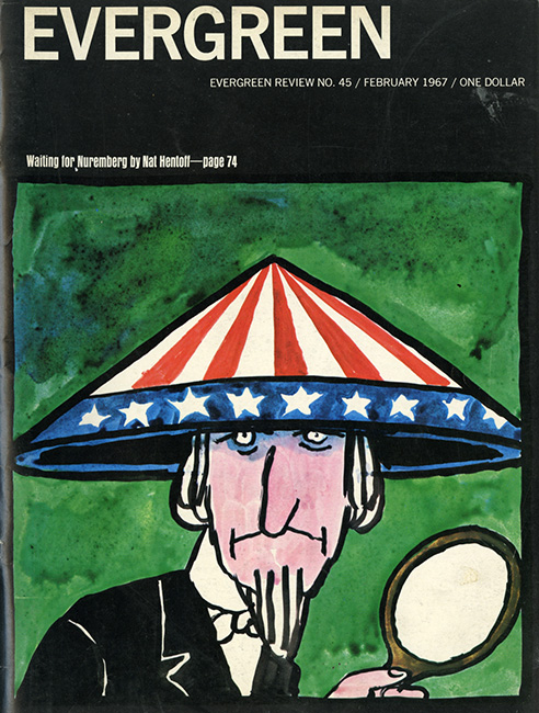 This was by no means my first issue of Evergreen, but it was one of the most memorable. Tomi Ungerer was ubiquitous on billboards and adverts around NYC. I so wished I could draw with his intensity.