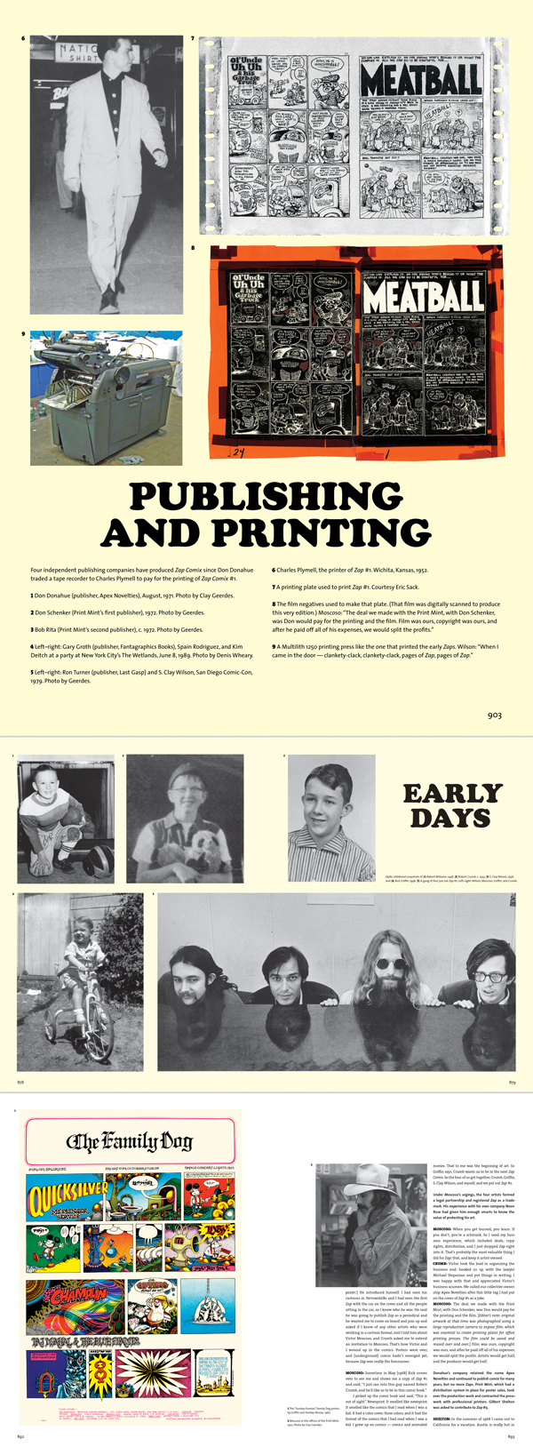 """At SDCC, practically all the major comics publishers have one-hour panels in which they show exclusive previews of upcoming releases as well as booths on the exhibition floor where you can learn more details. Fantagraphics' big announcements was for its long-awaited """"Complete Zap Comics,"""" a five-volume, 22-pound boxed set with bonus features such as an all-new issue – cover above – and an oral history."""