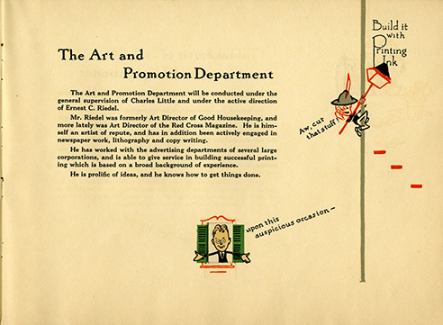Art and promotion department