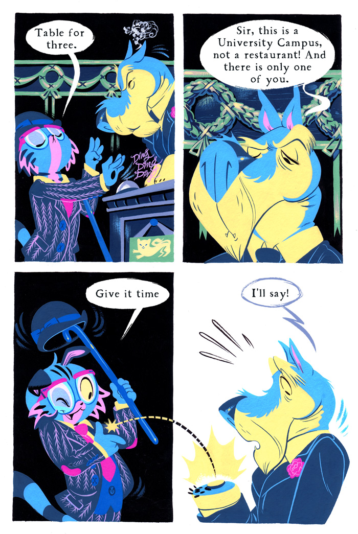 Becky Dreistadt and Frank Gibson's Tiny Kitten Teeth page.