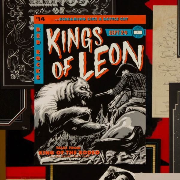 Poster illustration by Kevin Christy, with art direction and design by Brett Kilroe and Tina Ibañez