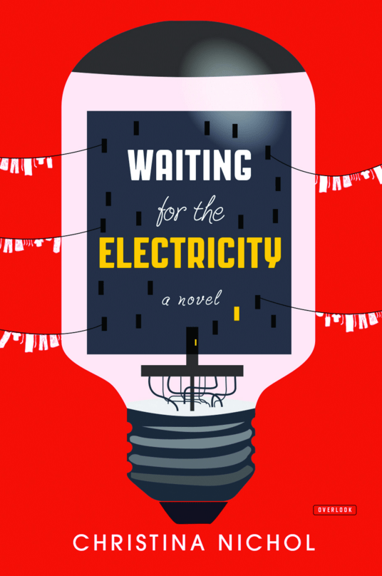 Waiting for the Electricity // Overlook Press; www.overlookpress.com: Anthony Morais (creative director/art director/designer); Overlook Press (client)