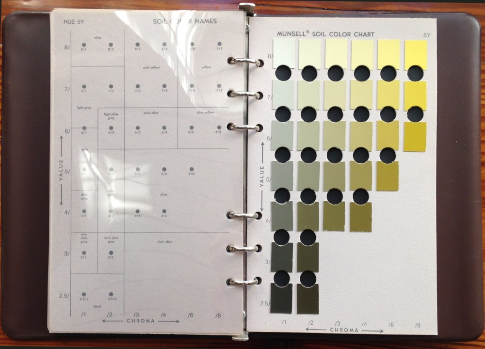 Figure 8 - Color literacy is critical in many areas of study and commerce. For instance, the Munsell Soil Color Charts are used by practitioners in agriculture, forestry, archeology, geology, and other professional and scientific fields referring to color samples with the same vocabulary. The Munsell Color Company was co-founded in 1917 by Albert H. Munsell who was dedicated to color theory and systems for communicating color. The company is now owned by X-Rite, also the owner of Pantone.