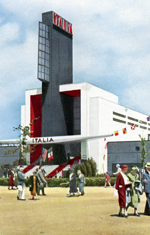 … the tower is an architectural fasci, the symbol of the Italian Fascists and all the repression it represents.