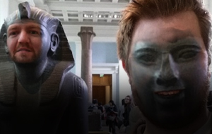 Thumbnail for This Face Swap at the British Museum Is a Masterpiece
