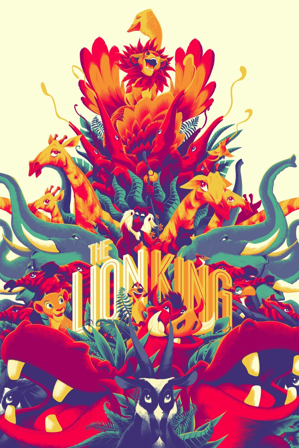 'The Lion King' by Matt Taylor for Mondo