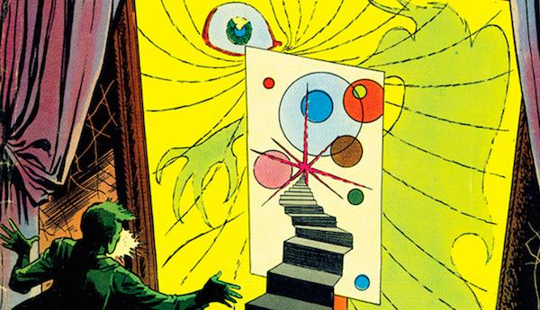 Thumbnail for Steve Ditko's Midcentury Comics Art: Stranger Than Doctor Strange