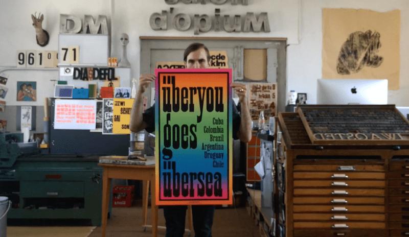Thumbnail for Dafi Kühne: Letterpress, Posters & Process