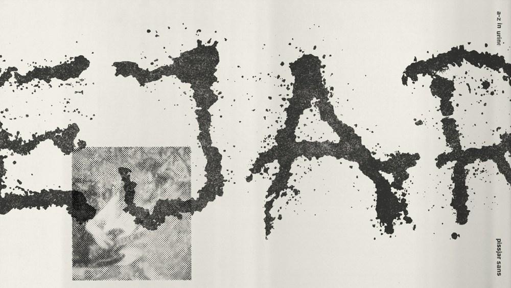experimental typeface