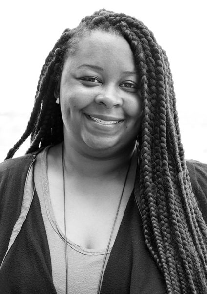 Antionette Carroll of Creative Reaction Lab and speaker at 2017 AIGA Design conference