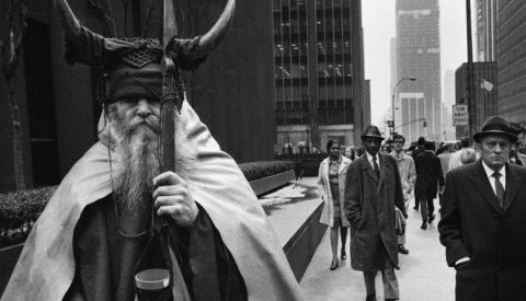 Thumbnail for Meet Moondog (or is it Thor?), the Viking of New York City