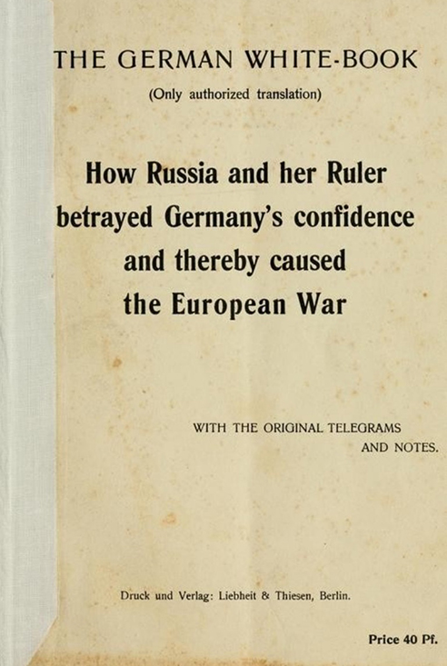 The White Books kept a running record of war crimes committed against the Germans, their allies, and civilians.